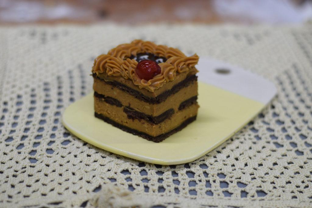 Porción Chocotorta