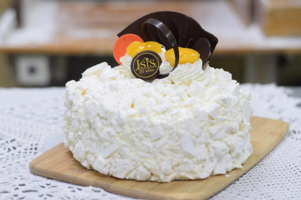 Torta Merenguitos y Durazno